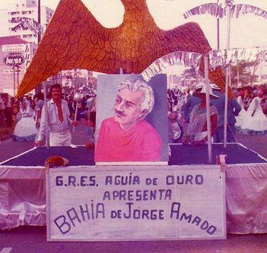 Carro Abre Alas desfile de 1977