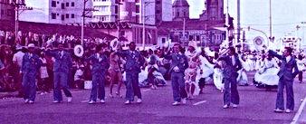 O primeiro Carnaval da Águia