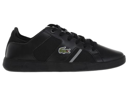 992b1a70 Tenis Lacoste piel negro