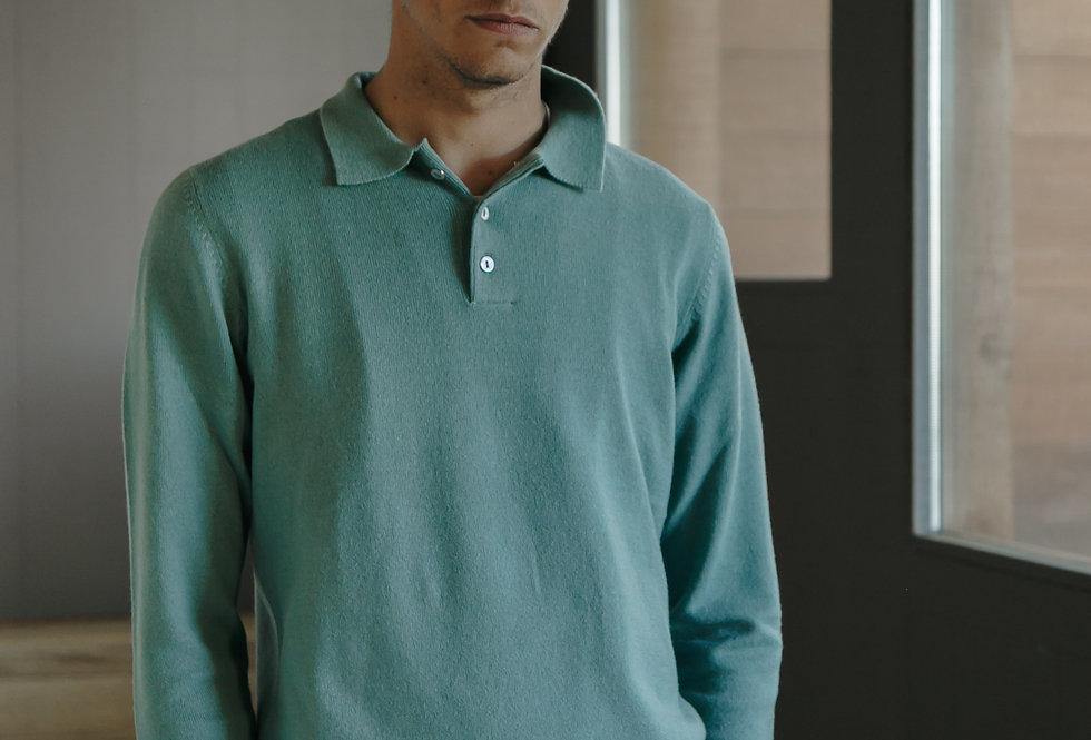 Polo Sweater Green