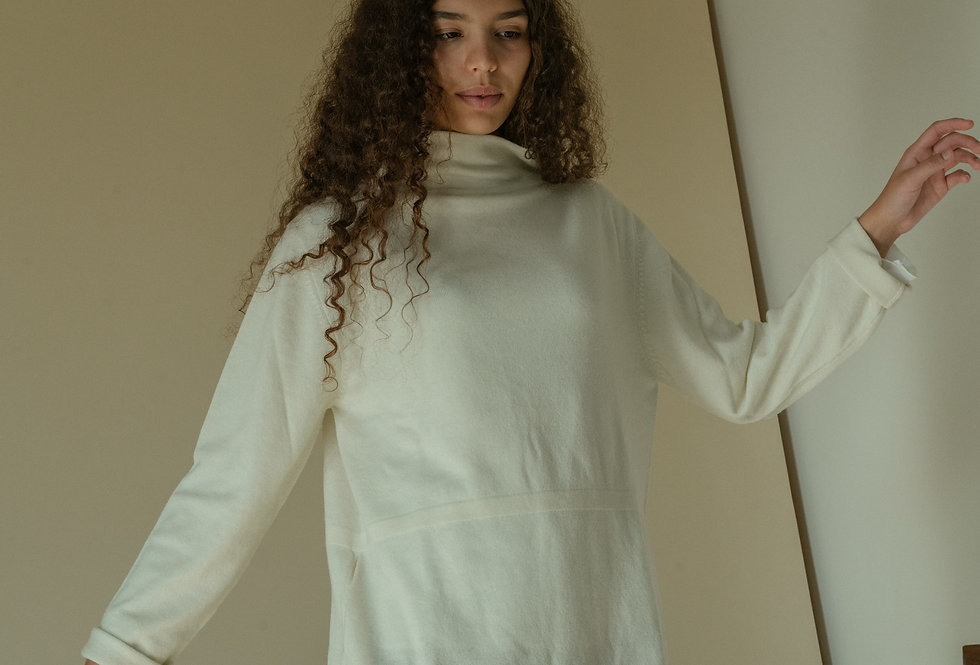 White Oversize Sweater