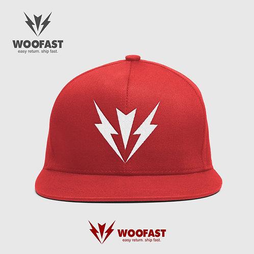 WOOFAST CAPTAIN CAP- Red