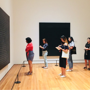 Silent Tour at the National Gallery with CAL