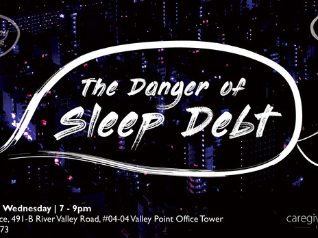 The Danger of Sleep Debt