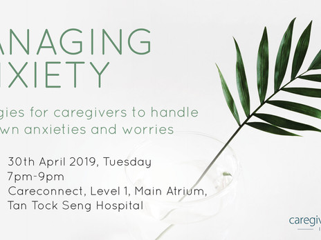 Managing Anxiety: Strategies for Caregivers