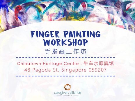 Finger Painting Workshop