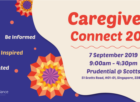 Caregivers Connect 2019 - 7 September 2019
