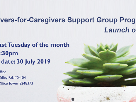 Caregivers-for-Caregivers Support Group Programme (C4C)