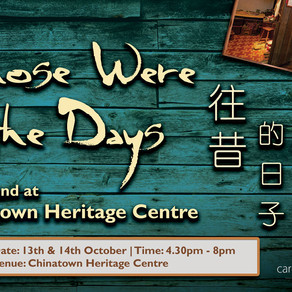 A weekend at Chinatown Heritage Centre
