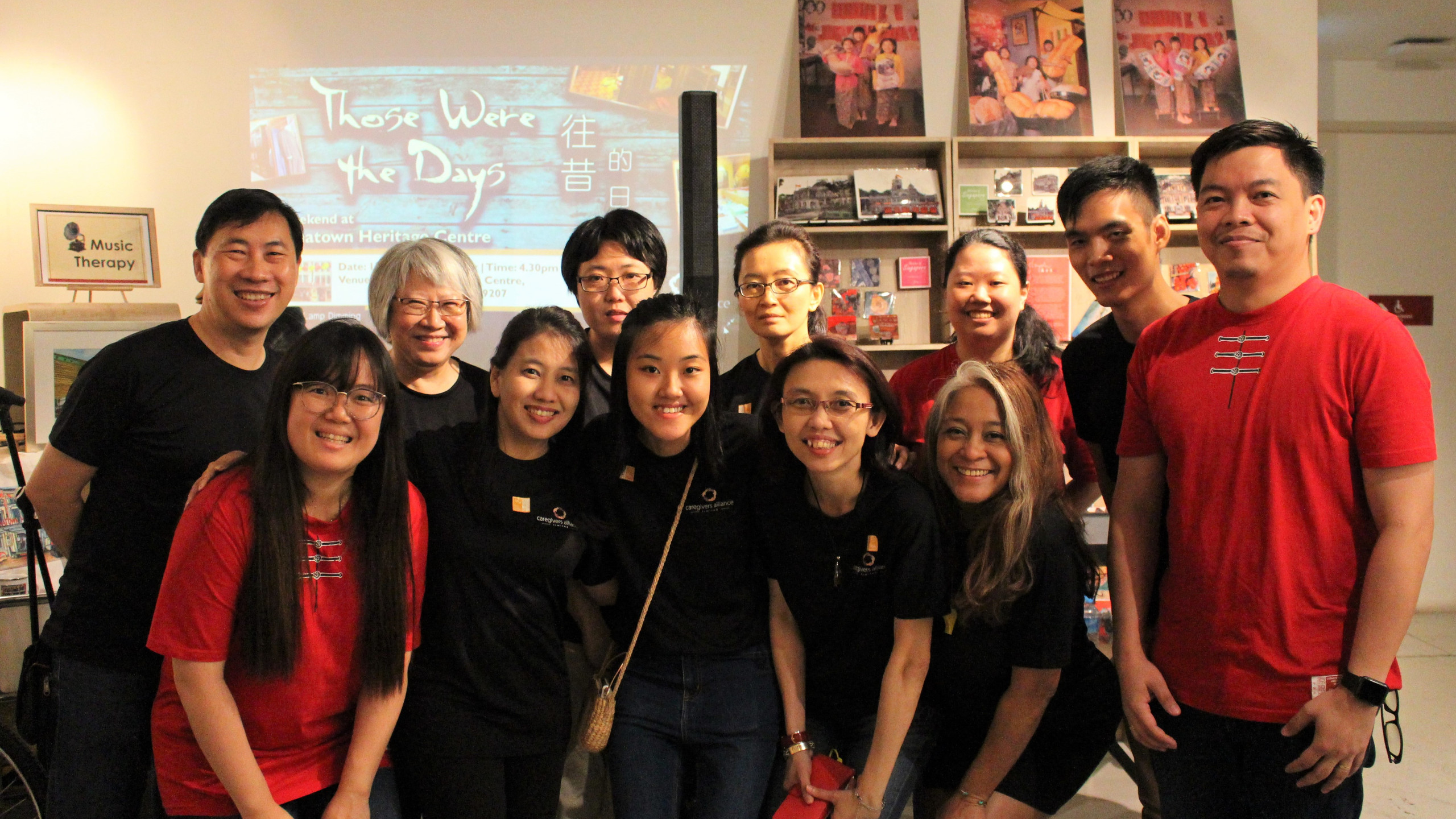 CAL staff and the crew from Chinatown Heritage Centre who tirelessly helped out throughout the two days.
