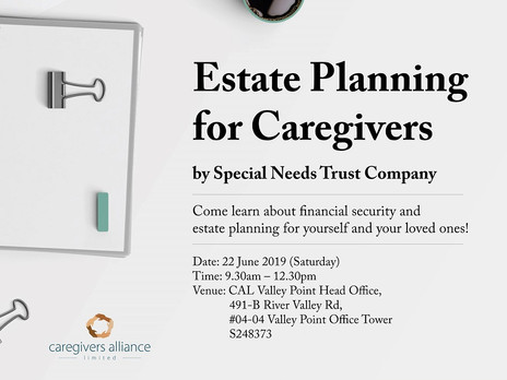 Estate Planning for Caregivers