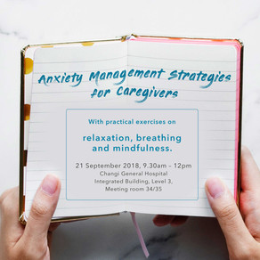 Anxiety Management Strategies for Caregivers