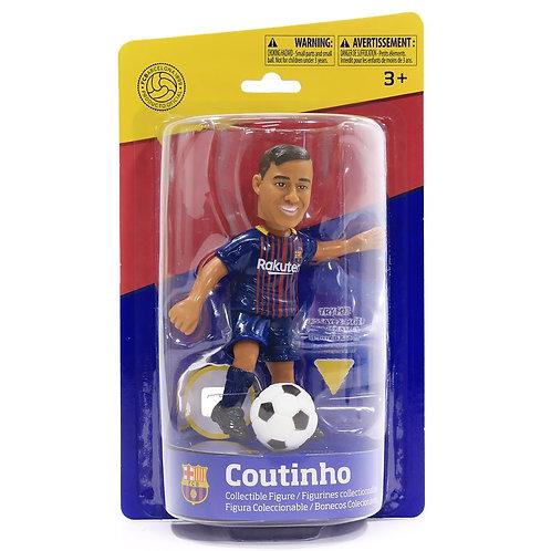 FCバルセロナ フィリペ・コウチーニョ(Philippe Coutinho) コレクティブル アクションフィギュア