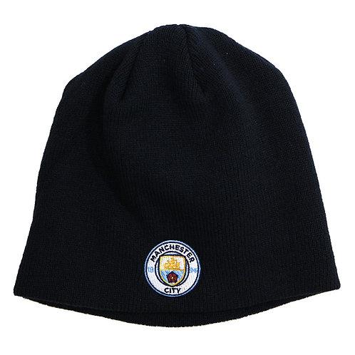 マンチェスター・シティFC ニット帽 ブラック