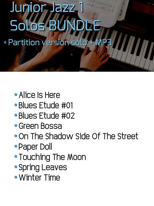 Junior Jazz 1 Solo Bundle