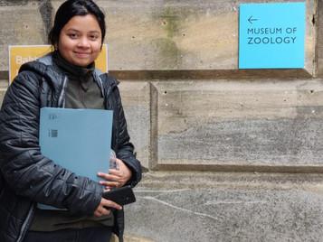 Visiting student from Wildlife Institute of India at FABio