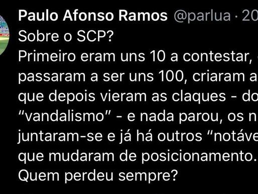 Paulo Afonso Ramos 04/08/2020 - EM ROTA DE COLISÃO LEONINA