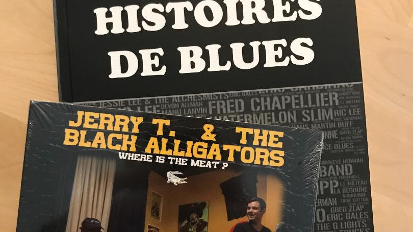 Livre Histoires de Blues +Album Where Is The Meat ?