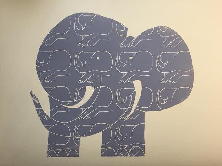 """ Elephant Going Nowhere!"""
