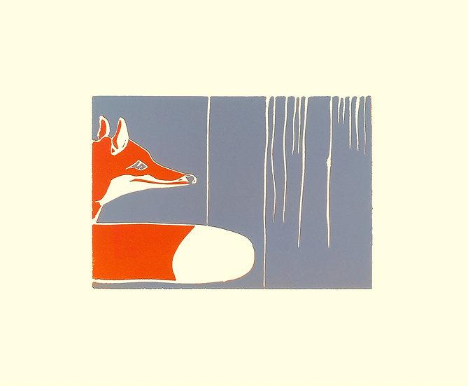 """ Lone Fox """