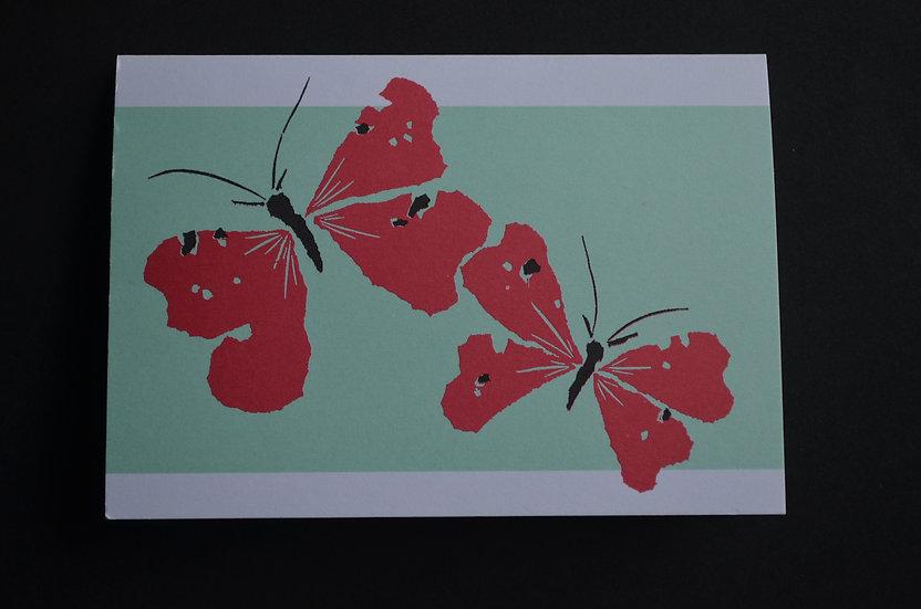 Butterflies / Pack of 6 cards
