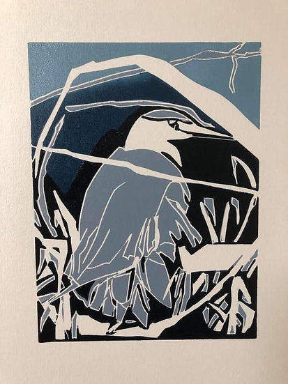 """ Heron Waiting """