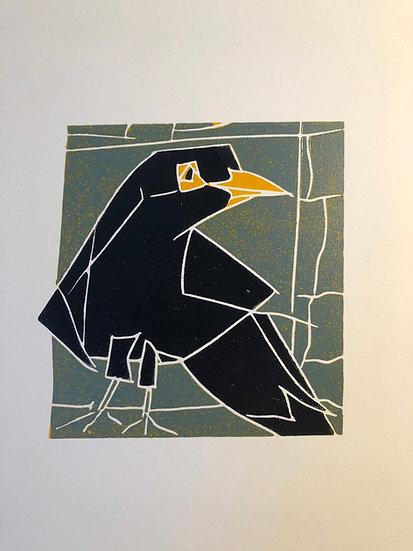 """ Bird in the wall """