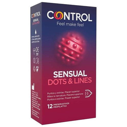 CONTROL SENSUAL - PRESERVATIVOS