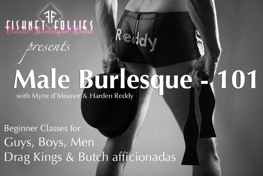 Male Burlesque 101