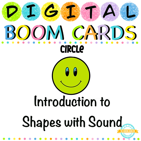Introduction to shapes - Boom Cards