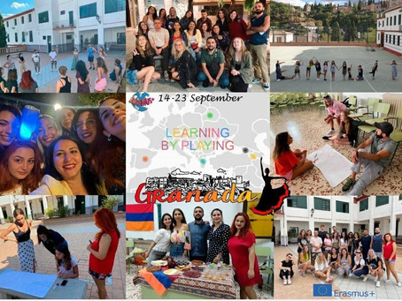 """""""Learning by playing"""": A youth exchange on gamification and much more"""