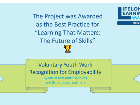 """🏆 Our Project Won the Prize """"Learning that Matters"""" in the LLLAwards 2020 among 1200 applicants"""