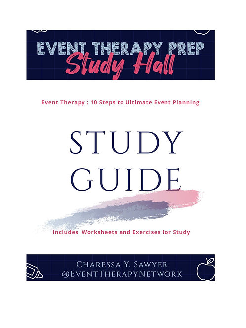 Event Therapy Study Hall WorkBook