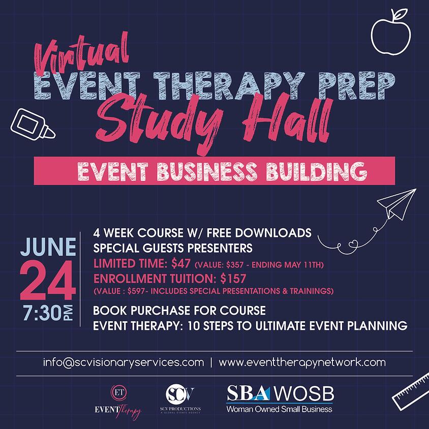 Event Therapy Prep