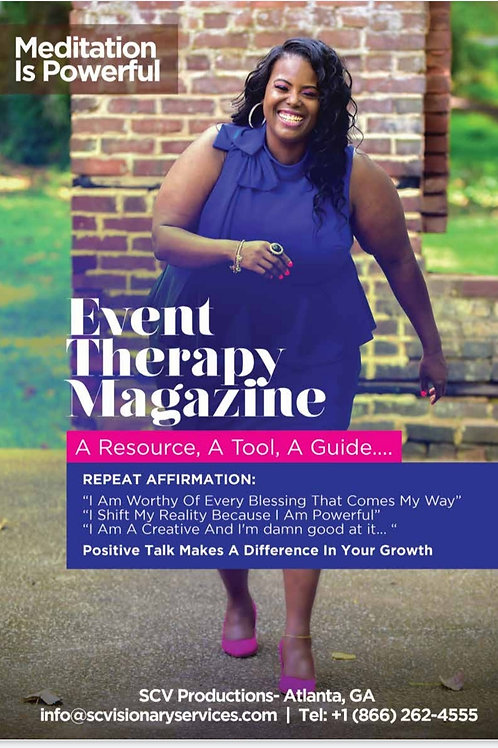 Event Therapy Mag (Print+Free Digital Copy)