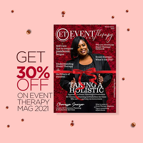 Event Therapy Magazine - Limited Edition