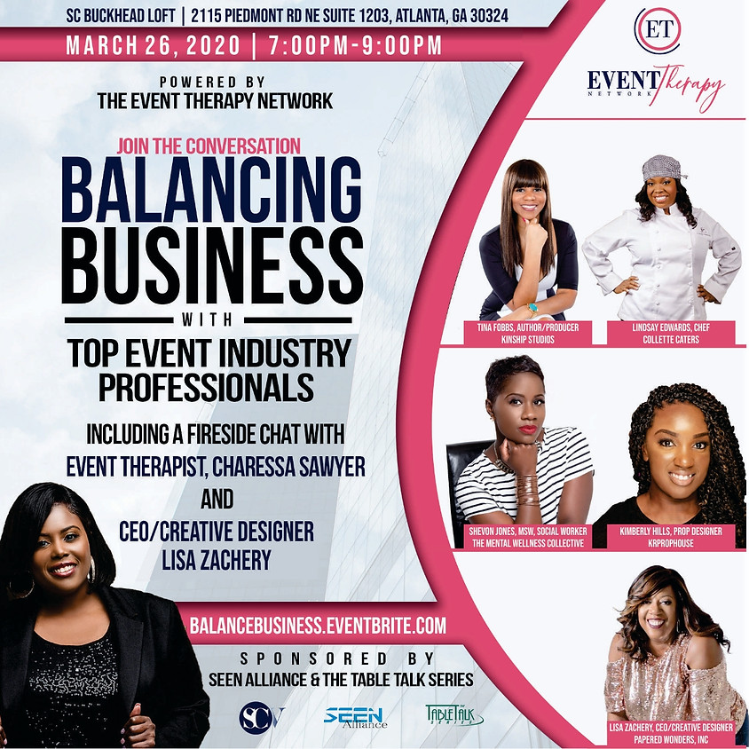 Event Therapy:  Balancing Business