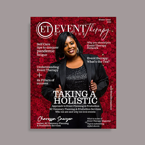 Event Therapy Digital Magazine - Limited Edition