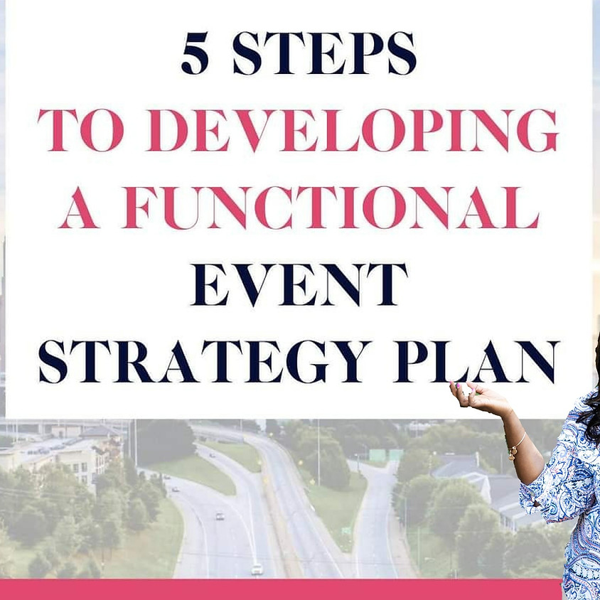 How to develop a functional Event Strategy Plan