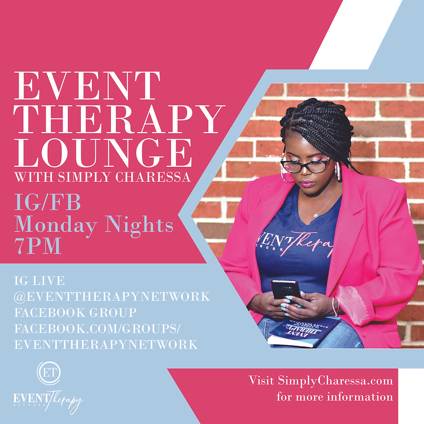 Event Therapy Lounge- Event Talk