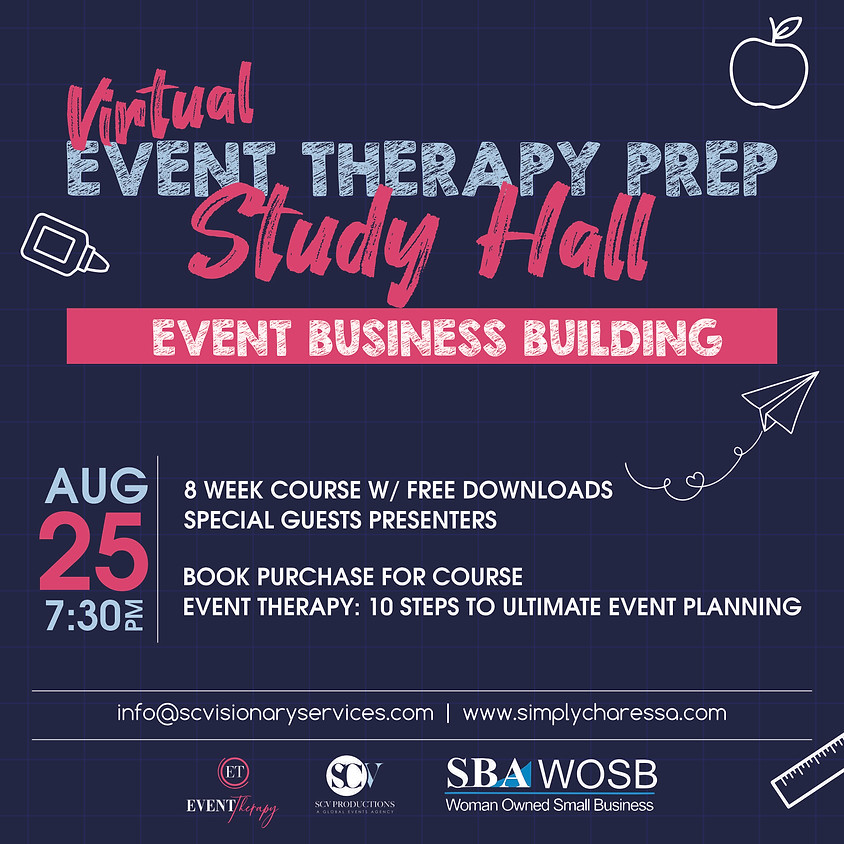 Event Therapy Study Hall