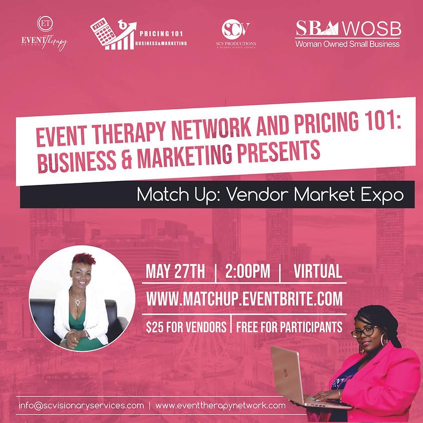 Match Up: Vendor Market Expo