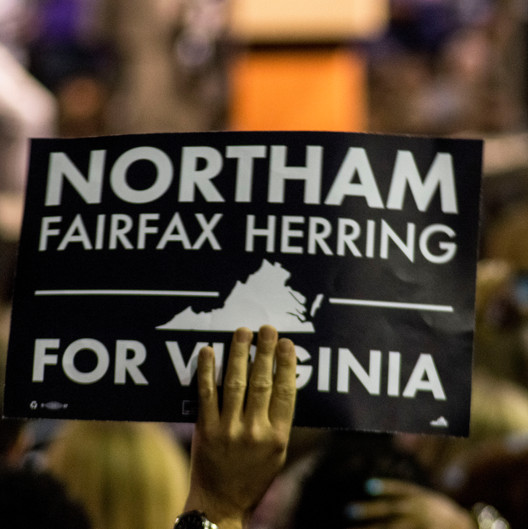 Ralph Northam Rally in Richmond, VA