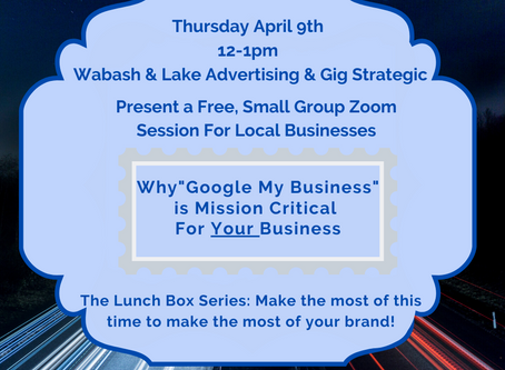 The Lunch Box Series: Make the most of this time to make the most of your brand!