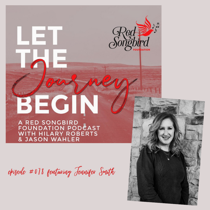 """""""Let the Journey Begin"""" Podcast featuring Jennifer Smith"""