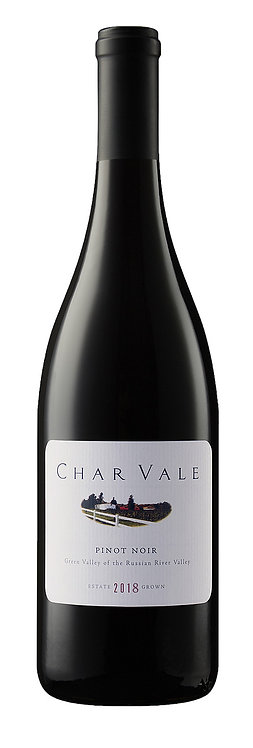 Char Vale 2018 Estate Pinot Noir, Green Valley of the Russian River Valley