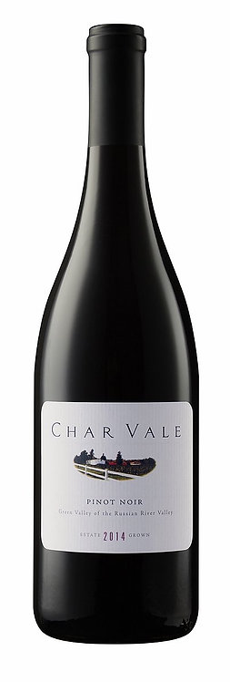 Char Vale 2014 Estate Pinot Noir, Green Valley of the Russian River Valley