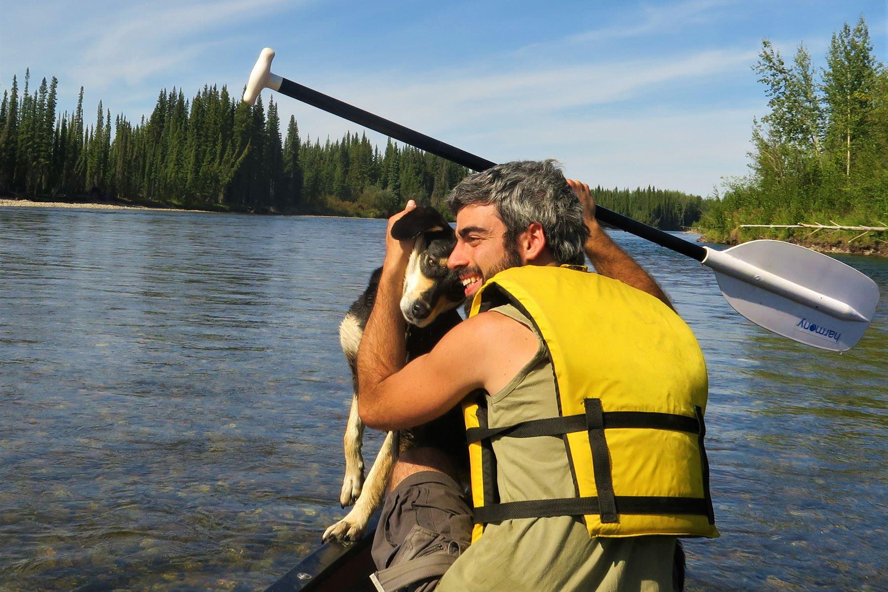 Klondike River, Yukon, Canadá
