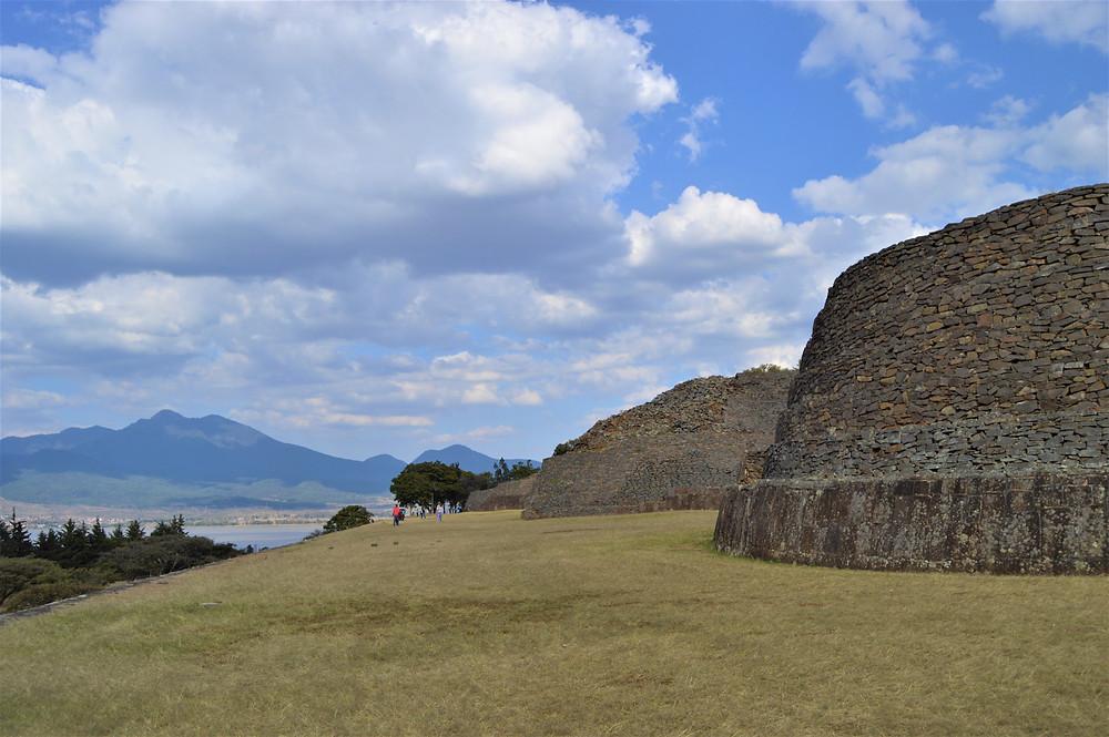 Archaeological site of Tzintzuntzan Michoacan