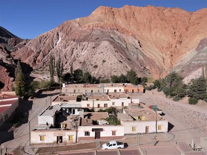Noroeste de Argentina, itinerario